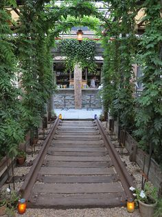 Gallow Green (Rooftop Garden Bar at the McKittrick Hotel)  Chelsea - New York, NY