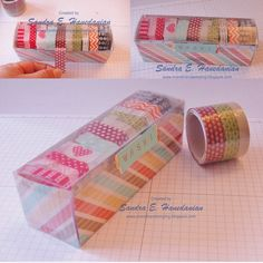 more: Washi Tape Dispenser and storage - Free Tutorial