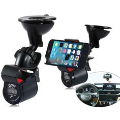 A7 Multifunctional 360-degree Phone Holder Car MP3  #CellPhoneCarAccessories