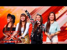 4th Power raise the roof with Jessie J hit | Auditions Week 1 | The X Fa...