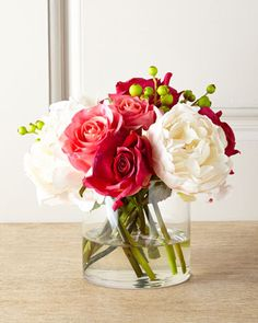 Sweet Treat Faux-Floral Arrangement by John-Richard Collection at Neiman Marcus.