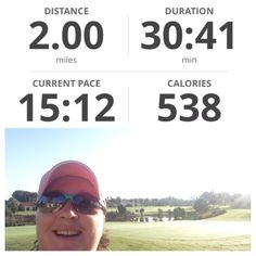 Run DONE!  I even had someone come out of their house on the golf course, cheer me on and high five me!  Love it!