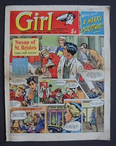 Comics Girls, Vintage Books, Dandy, Robin, December, British, Merry, Old Books, Dandy Style