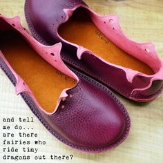 Handmade shoes. Do them in blue please