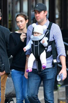 Emily Blunt & John Krasinski's Big Apple Baby