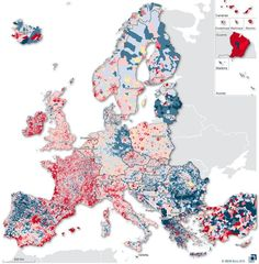 Where Europe Shrinks, and Where it Grows | Big Think