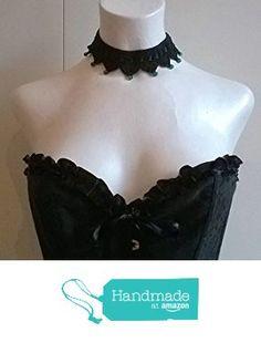 Collier gothique victorien gothic victorian au crochet perles en onyx vert gemstone pierre semi-précieuses tour de cou crochet à partir des LilithCreation-Boutique https://www.amazon.fr/dp/B01M9GK1TY/ref=hnd_sw_r_pi_dp_po6eybJCN6WDQ #handmadeatamazon