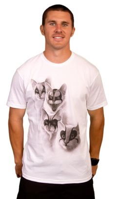 Black Metal Cats T-shirt by ADAMLAWLESS from Design By Humans. Black Metal Cats T-shirt by ADAMLAWLESS from Design By Humans.  for