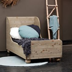 adorable toddler bed...or kids had beds like these when they were toddlers! Built with love, by Daddy!!!