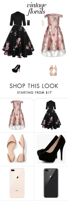 """""""Untitled #337"""" by kiranpreetgill ❤ liked on Polyvore featuring Chi Chi and Boohoo"""