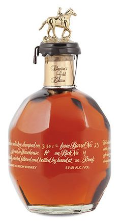Blanton's Gold is a higher proofed version of Blanton's that is only available in International markets and duty-free outlets (if you are lucky). Truth be told, Blanton's is my favorite higher end bourbon and pretty much my standard when trying something new. Not necessarily on taste and flavor profile but more along the lines of value and bang for my buck.