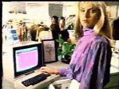 New trending GIF on Giphy. 80s computer technology kitsch knowledge retrocomputing c64 commodore 64 commodore 64 commercial 1985. Follow Me CooliPhone6Case on Twitter Facebook Google Instagram LinkedIn Blogger Tumblr Youtube