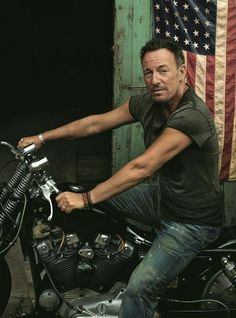 Bruce Springsteen photographed for Vanity Fair, 2016.