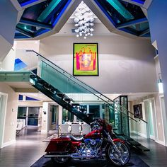 Talk about a grand entry! See the entire home at www.PriceyPads.com #architecture #vancouver #westvan #design #style #modern #contemporary #motorcycle #rich #lavish #luxury #mansion by priceypads - http://sfluxe.com/2013/07/31/talk-about-a-grand-entry-see-the-entire-home-at-www-priceypads-com-architecture-vancouver-westvan-design-style-modern-contemporary-motorcycle-rich-lavish-luxury-mansion-by-priceypads/