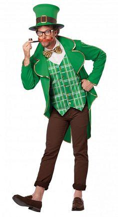 Saint Patrick's Day is coming!  Lucky Leprechaun Costume $45.99