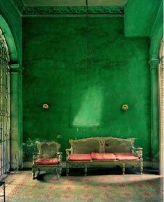 Emerald Castle Walls