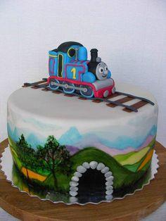 Thomas The Tank Engine cake | Flickr: Intercambio de fotos