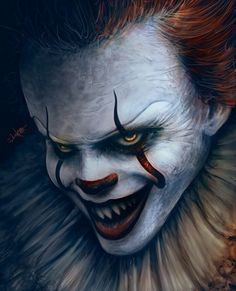 Pennywise #BillSkarsgãrd Reboot It Stephen King's Movie..