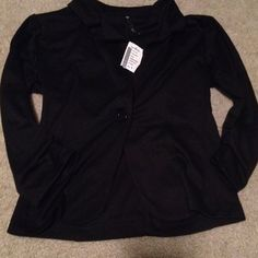 Love Culture Black Blazer This is a black lightweight blazer from Love Culture. It has a single button closure an a collar. It is brand new with tags! Love Culture Jackets & Coats Blazers