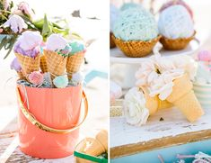 Ice Cream Social Beach Party - Inspired By This