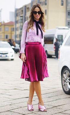 La falda que es tendencia para otoño invierno