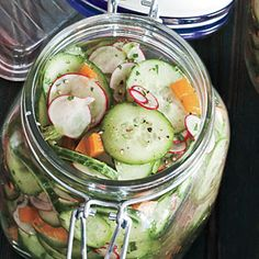 Lemony Cucumber Salad