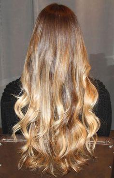 Box No. 216: ombre hair color