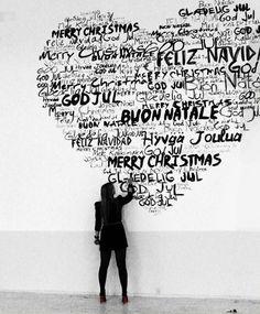 Merry Christmas - Feliz Natal - Buon Natale - с Рождеством Христовым - Feliz Navidad - Frohe Weihnachten - Vrolijk Kerstfeest - ميلاد مجيد - Joyeux Noël - God Jul - Hyvää Joulua - Priecīgus Ziemassvētkus - חג מולד שמח - Maligayang Pasko from CasaVersa www.casaversa.com Photo by http://spottedbynormanncopenhagen.com/2009/10/29/watch-woman-at-work/