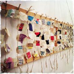"""Voci e frammenti. Collezione """"Canto di un filo"""", novembre 2013"""