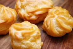 Profiteroles, Eclairs, My Favorite Food, Favorite Recipes, Diy Snacks, Nutella, Bakery, Snack Recipes, Food And Drink