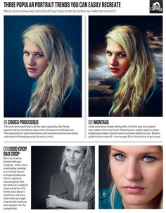 3 portrait editing tricks for on-trend images