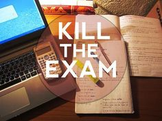 exam, study, and kill image