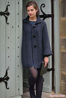 Пальто HOLT, SMOULDER - для настоящих леди от Kim Hargreaves
