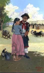 Resultado de imagen para florencio molina campos montefusco Rio Grande Do Sul, Artsy Fotos, Les Paul Custom, Cultural Experience, Western Art, Native American Indians, Figure Painting, Dory, African Art