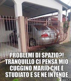 PROBLEMI DI SPAZIO?! | BESTI.it - immagini divertenti, foto, barzellette, video