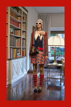 90c3cf4b740 Gucci Pre-Fall 2018 Fashion Show Collection  See the complete Gucci Pre-Fall  2018 collection.