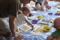 Baby art workshop