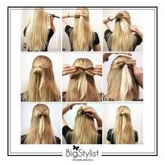 Bow Ponytail Perfect For Summer
