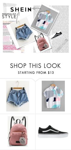"""SheIn"" by musicajla ❤ liked on Polyvore featuring Post-It and Vans"