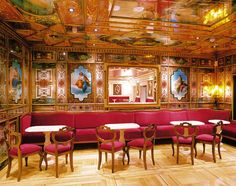 cafe florian in Venice Costa Atlantica, Coffe Table, Interior Walls, Venice Italy, Cruise, Beautiful Places, Home Decor, Coffee, Google Search