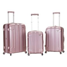 Rockland Luggage, 3-pc. Expandable Hardside Spinner Luggage Set