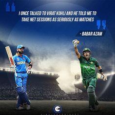 #BabarAzamreveals how#ViratKohli's advice has helped him improve as a batsman.#cricket Cricket Quotes, Virat Kohli, Famous Quotes, Advice, Famous Qoutes, Tips