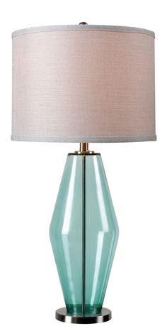 Azure Table Lamp - http://www.kenroyhome.com/pages/product_pages/32315TEAL.html