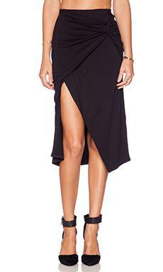 Michael Stars Sarafina Maxi Skirt in Black 76$