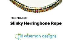 FREE Project: Slinky Herringbone Rope