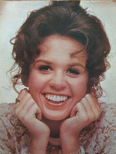 Marie O. pose on her MGM Record or Tape & CD ~ I luv her hair sooo Cute!!!