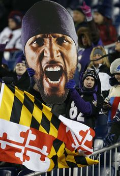 What ya gonna do when Ray Lewis goes wild on you! #Ravens