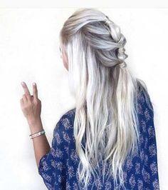 Various Bohemian Long Hairstyles Styles #bohemian #hairstyles #styles #various