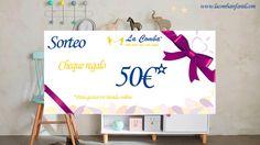 La Comba Infantil te invita al sorteo de un cheque regalo de 50€ para gastar en tienda online