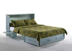 Night & Day Poppy Skye Queen Murphy Cabinet Bed In A Box – Futons 4 Less Queen Memory Foam Mattress, Queen Mattress, Queen Size Bedding, Cabinet Decor, Cabinet Design, Free Standing Cabinets, Night And Day Furniture, Box Bed, Comfy Bed